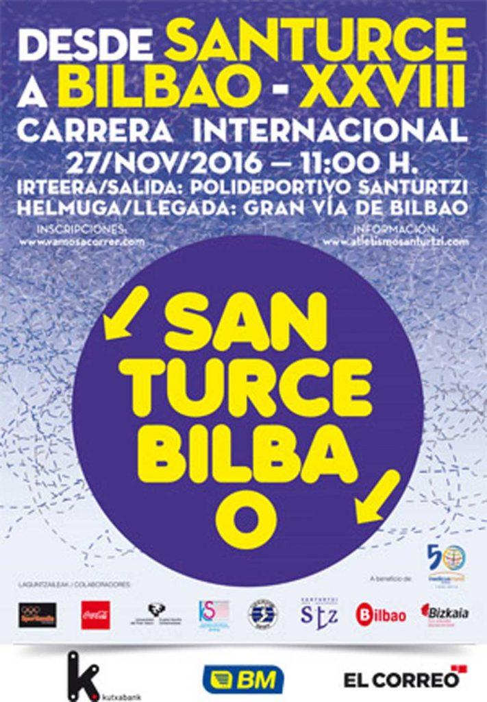 Recomendado esta espontáneo  Carrera Popular Santurce - Bilbao 2016 - Baibizkaia