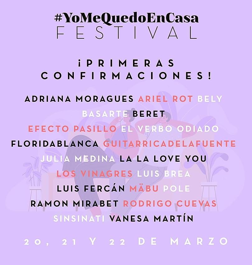 #YoMeQuedoEnCasaFest